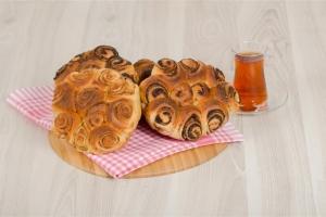 Sarı Mavi Haşhaşlı Çörek